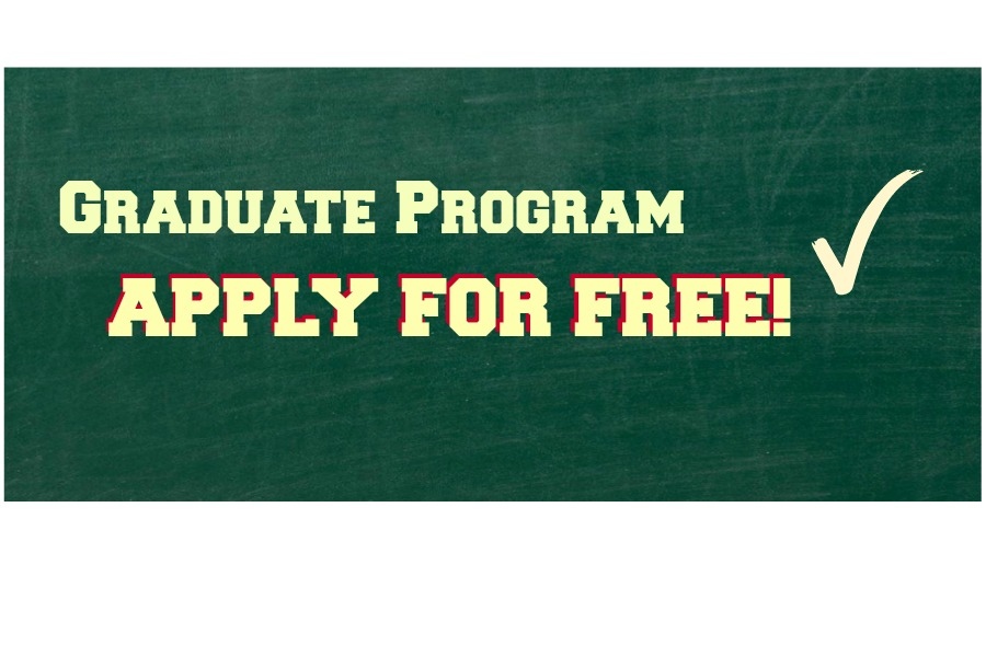 Apply to our graduate program for free.