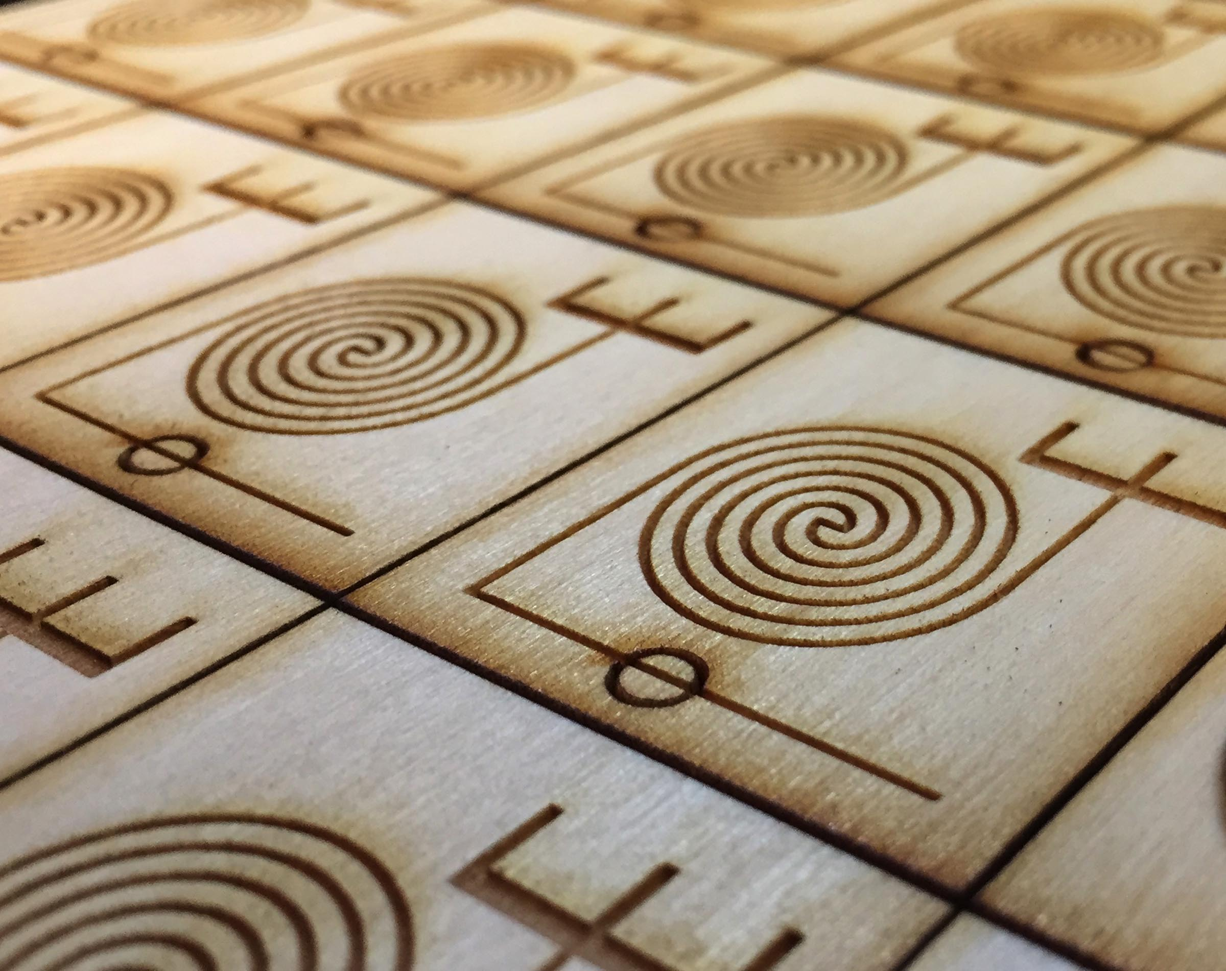 Microfluidic devices made of wood